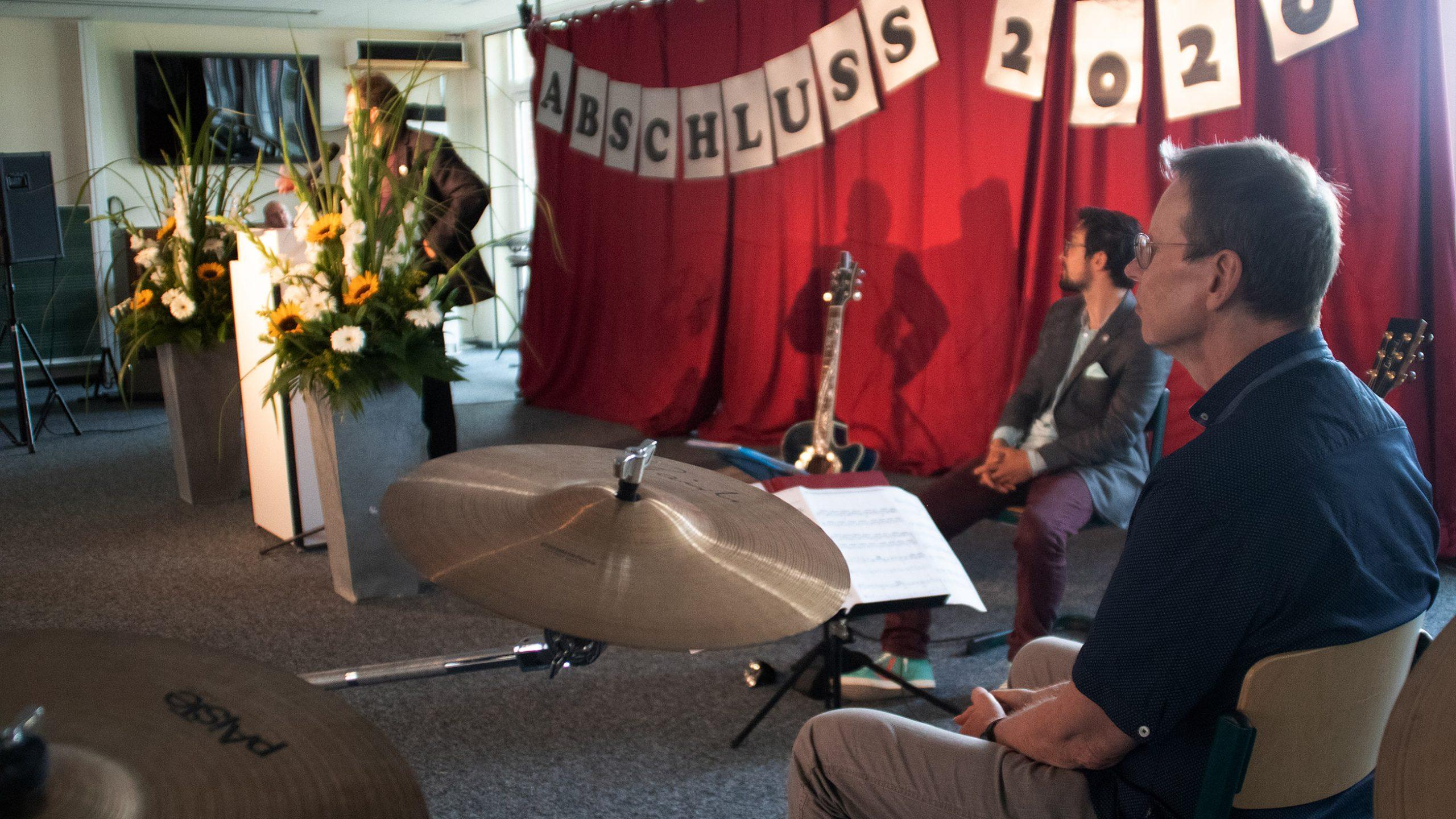 Für musikalische Untermalung sorgte wie üblich das Duo aus Herrn Dewald und Herrn Groeger!